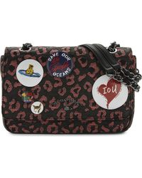 Vivienne Westwood | Pink Avon Woven Leopard Pattern Shoulder Bag | Lyst