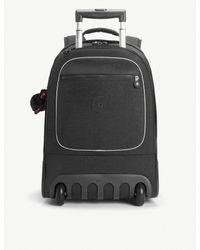 Kipling - Black Clas Soobin Wheeled Backpack - Lyst