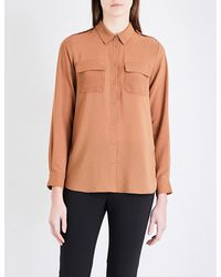 French Connection | Multicolor Pippa Plains Georgette Shirt | Lyst