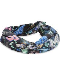 Camilla - Blue Wire Wrap Headband - Lyst