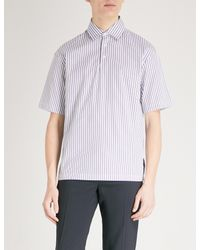 Sandro - Multicolor Striped Regular-fit Cotton Shirt for Men - Lyst