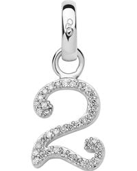 Links of London - Metallic Sterling Silver And Diamond Number Charm - Lyst