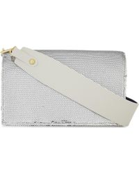 Diane von Furstenberg - Metallic Sequin Soirée Shoulder Bag - Lyst