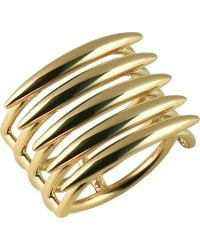 Shaun Leane - Metallic Quill Gold Vermeil Sterling Silver Ring (small) - Lyst