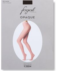 Fogal - Brown Opaque Tights - Lyst