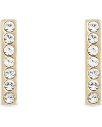 Kate Spade - Multicolor Dainty Sparklers Bar Stud Earrings - Lyst