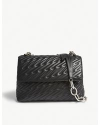 Vivienne Westwood - Black Coventry Large Quilted Leather Shoulder Bag - Lyst