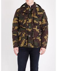 Polo Ralph Lauren - Multicolor Camouflage-print Hooded Shell Utility Jacket for Men - Lyst