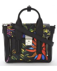 3.1 Phillip Lim | Black Pashli Mini Leather Satchel | Lyst