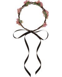 Rock N Rose - Pink Amie Blossom Crown - Lyst