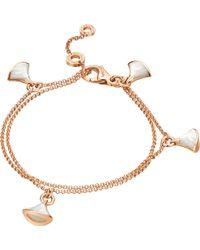 BVLGARI | Multicolor Divas' Dream 18kt Pink-gold Bracelet | Lyst