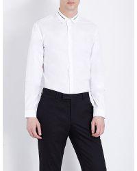 Sandro | White Affinity Regular-fit Cotton Shirt for Men | Lyst