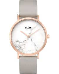 Cluse - Multicolor Cl40005 La Roche Marble-dial Leather Watch - Lyst