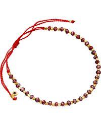 Astley Clarke   18ct Gold Vermeil Red Cord Bracelet   Lyst