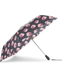 Fulton - Ladies Black Innovative Rosie Pin Umbrella - Lyst