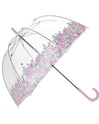 Fulton | Multicolor Ladies Floral Coming Up Roses Birdcage Umbrella | Lyst