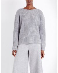 Theory | Gray Twylina Cashmere Jumper | Lyst