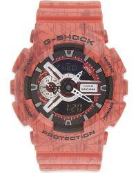 G-Shock - Red Ga-110sl-3aer Watch for Men - Lyst