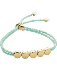 Monica Vinader   Metallic Linear Bead 18ct Gold-plated Friendship Bracelet   Lyst