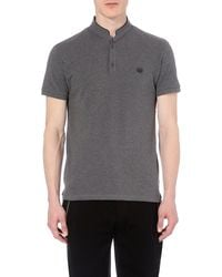 The Kooples Sport | Gray Cotton Polo Shirt for Men | Lyst