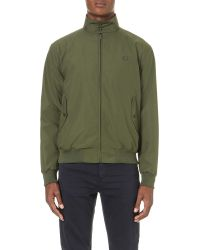 Fred Perry - Green Made In England Harrington Jacket for Men - Lyst