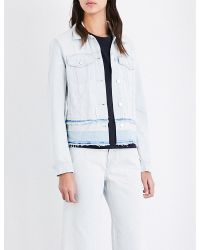 J Brand | Blue Deena Denim Jacket | Lyst