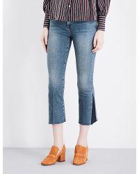 Frame Mini Boot Gusset jeans J34HAdhNtt