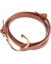 Miansai | Brown Hook Bracelet | Lyst