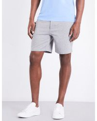 Ralph Lauren Purple Label | Gray Cotton-jersey Lounge Shorts for Men | Lyst
