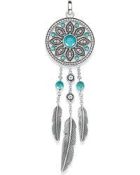 Thomas Sabo - Multicolor Dreamcatcher Sterling Silver Pendant - Lyst