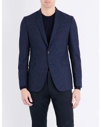 Paul Smith | Blue Kensington-fit Wool Jacket for Men | Lyst