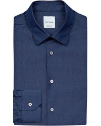 Paul Smith   Blue Regular-fit Chambray Shirt for Men   Lyst