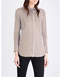 By Malene Birger | Multicolor Tirana Stretch-cotton Shirt | Lyst