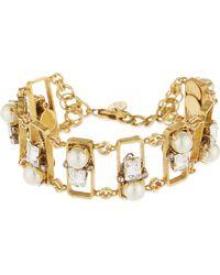 Erickson Beamon - Metallic Future Shock Gold-plated Bracelet - Lyst