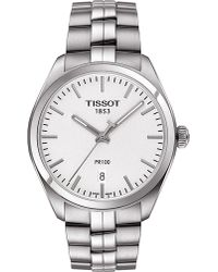 Tissot   Metallic T101.410.11.031.00 Pr 100 Stainless Steel Watch for Men   Lyst