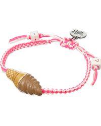 Venessa Arizaga   Pink I Scream 4 Ice Cream Ceramic Bracelet   Lyst
