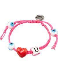 Venessa Arizaga | Pink Horse Play Bracelet | Lyst