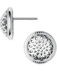 Links of London | Metallic Timeless Sterling Silver Domed Stud Earrings | Lyst