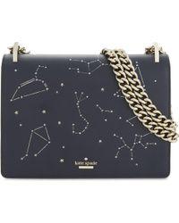Kate Spade - Metallic Light Up Constellation Leather Shoulder Bag - Lyst