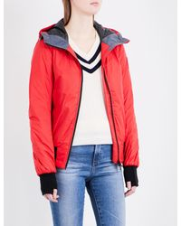 Canada Goose - Red Dore Hoody Quilted Jacket - Lyst