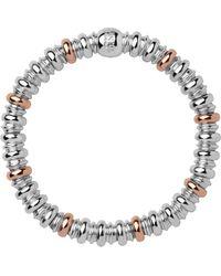 Links of London - Metallic Sweetheart Silver & Rose Gold Bracelet - Lyst