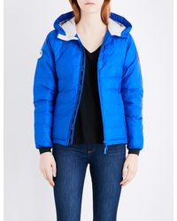 Canada Goose - Blue Camp Quilted Jacket - Lyst