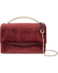 Eddie Borgo - Multicolor Boyd Vanity Velvet Shoulder Bag - Lyst