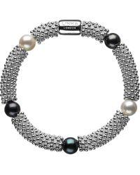 Links of London - Metallic Effervescence Star Sterling Silver Pearl Bracelet - Lyst