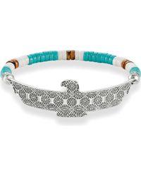 Thomas Sabo - Metallic Eagle Love Bridge Sterling Silver Bracelet - Lyst