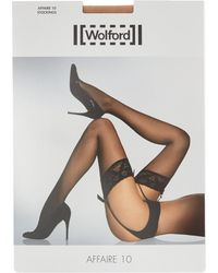 Wolford - Multicolor Affaire 10 Stockings - Lyst