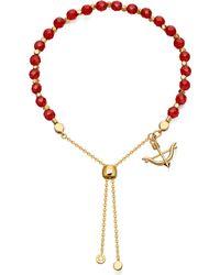 Astley Clarke | Metallic Carnelian Kula Bow And Arrow Bracelet | Lyst