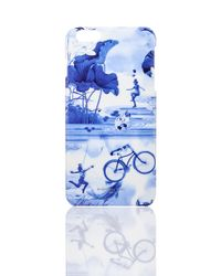 Shanghai Tang | Blue Lotus Play Case For Iphone 6 Plus | Lyst