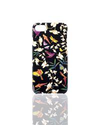 Shanghai Tang   Black Ginger Flower Iphone 7 Case   Lyst