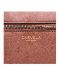 Carvela Kurt Geiger - Brown Mia2 X Body Bag In Tan - Lyst